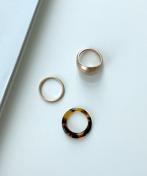 formica layered rings (set)